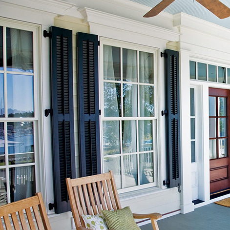 Louvered Colonial Shutters